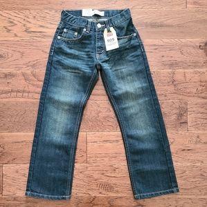Levi's 505 Boy's Regular Medium Wash Jeans